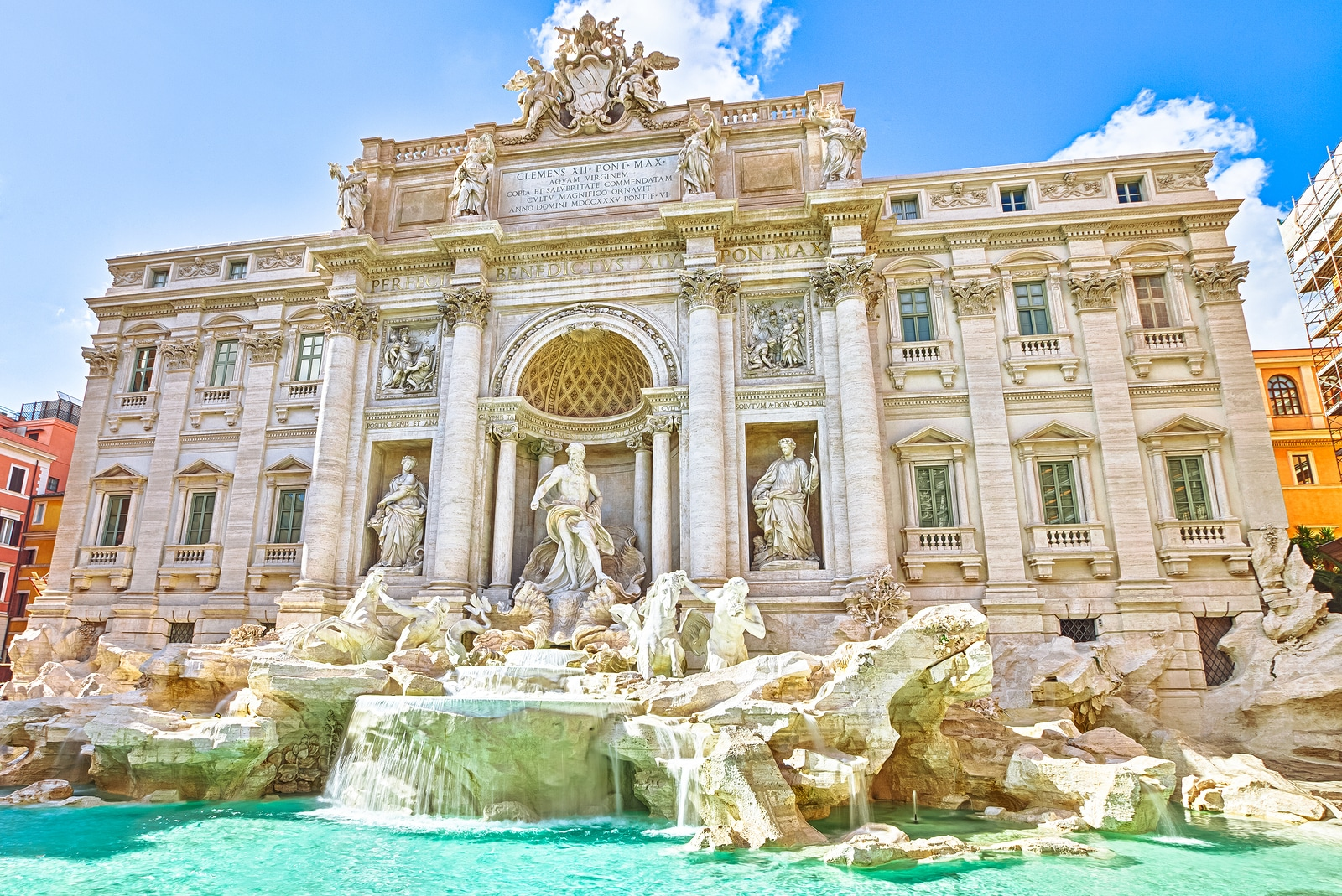 Top 3 Things to Wish for in The Trevi Fountain
